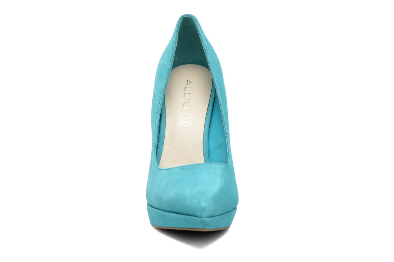 Escarpins Aldo Lalia Bleu vue portées chaussures