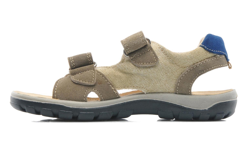 Sandales et nu-pieds Naturino Pippo 5719 Beige vue face