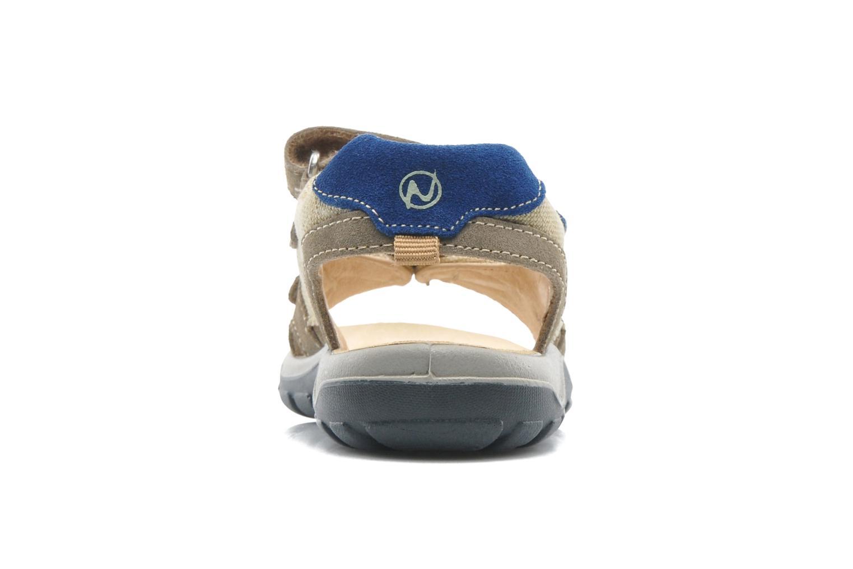Sandales et nu-pieds Naturino Pippo 5719 Beige vue droite