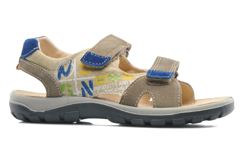 Sandales et nu-pieds Naturino Pippo 5719 Beige vue derrière