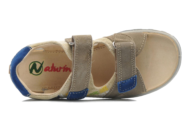 Sandales et nu-pieds Naturino Pippo 5719 Beige vue gauche