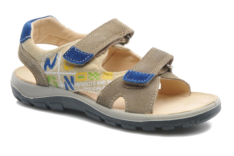 Sandales et nu-pieds Naturino Pippo 5719 Beige vue détail/paire