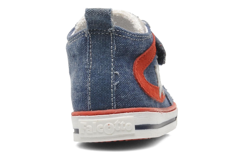 Sneakers Naturino Atchroe Blauw rechts