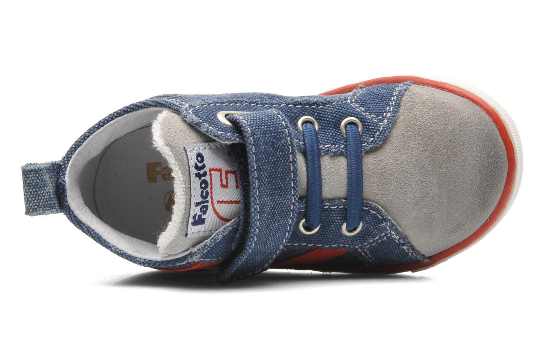 Sneakers Naturino Atchroe Blauw links