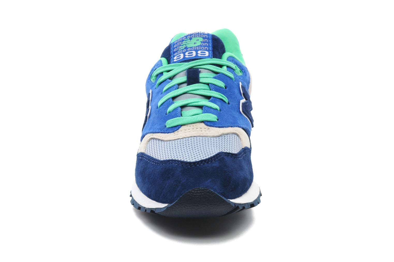 Baskets New Balance ML999 Bleu vue portées chaussures