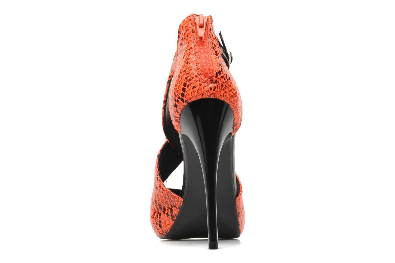 Sandales et nu-pieds Steve Madden BANOCKA Orange vue droite