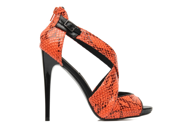 Sandales et nu-pieds Steve Madden BANOCKA Orange vue derrière