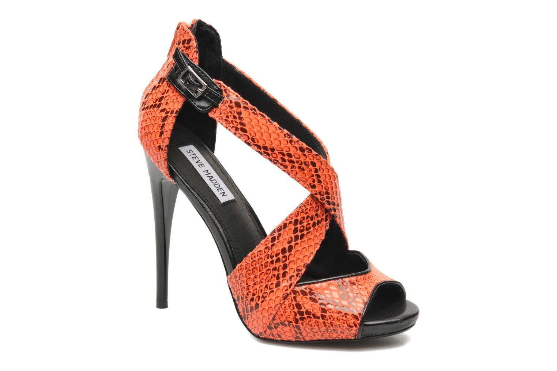 Sandales et nu-pieds Steve Madden BANOCKA Orange vue détail/paire