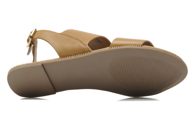 Sandales et nu-pieds Steve Madden SANDDY Beige vue haut