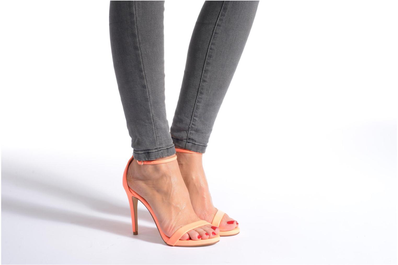 Sandales et nu-pieds Steve Madden Stecy Sandal Argent vue bas / vue portée sac