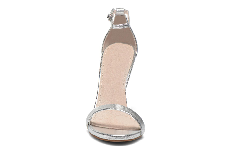 Sandales et nu-pieds Steve Madden Stecy Sandal Argent vue portées chaussures