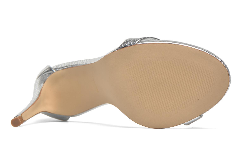 Stecy Sandal Silver Snake