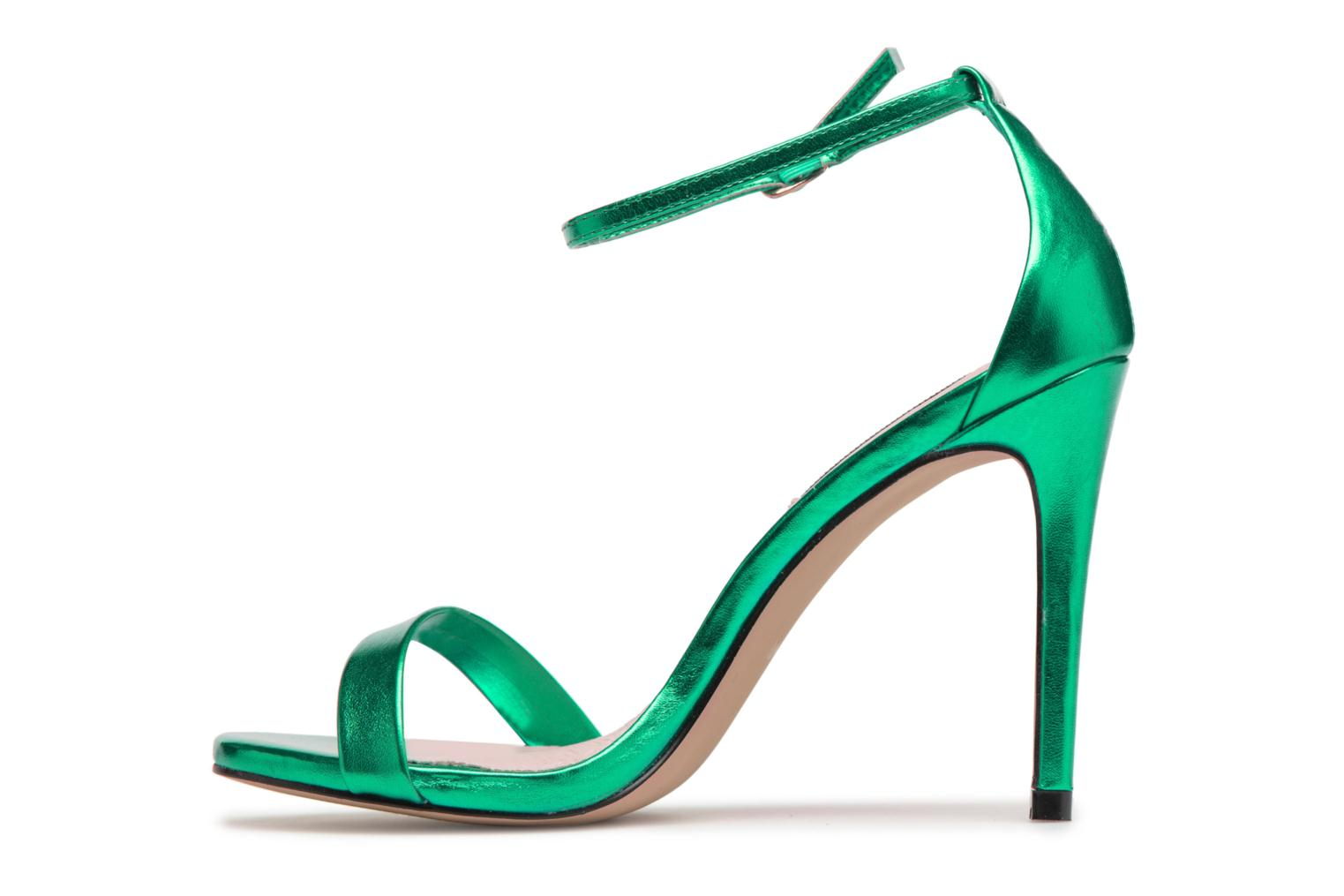Sandals Steve Madden Stecy Sandal Green front view