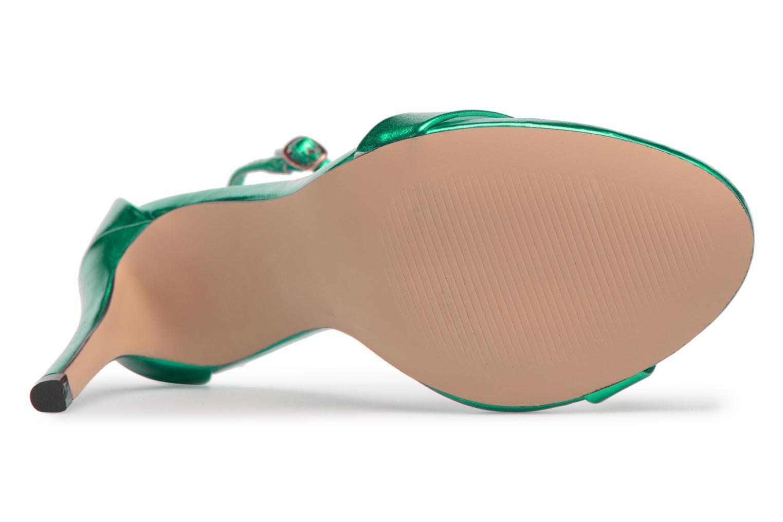 Stecy Sandal Green metallic