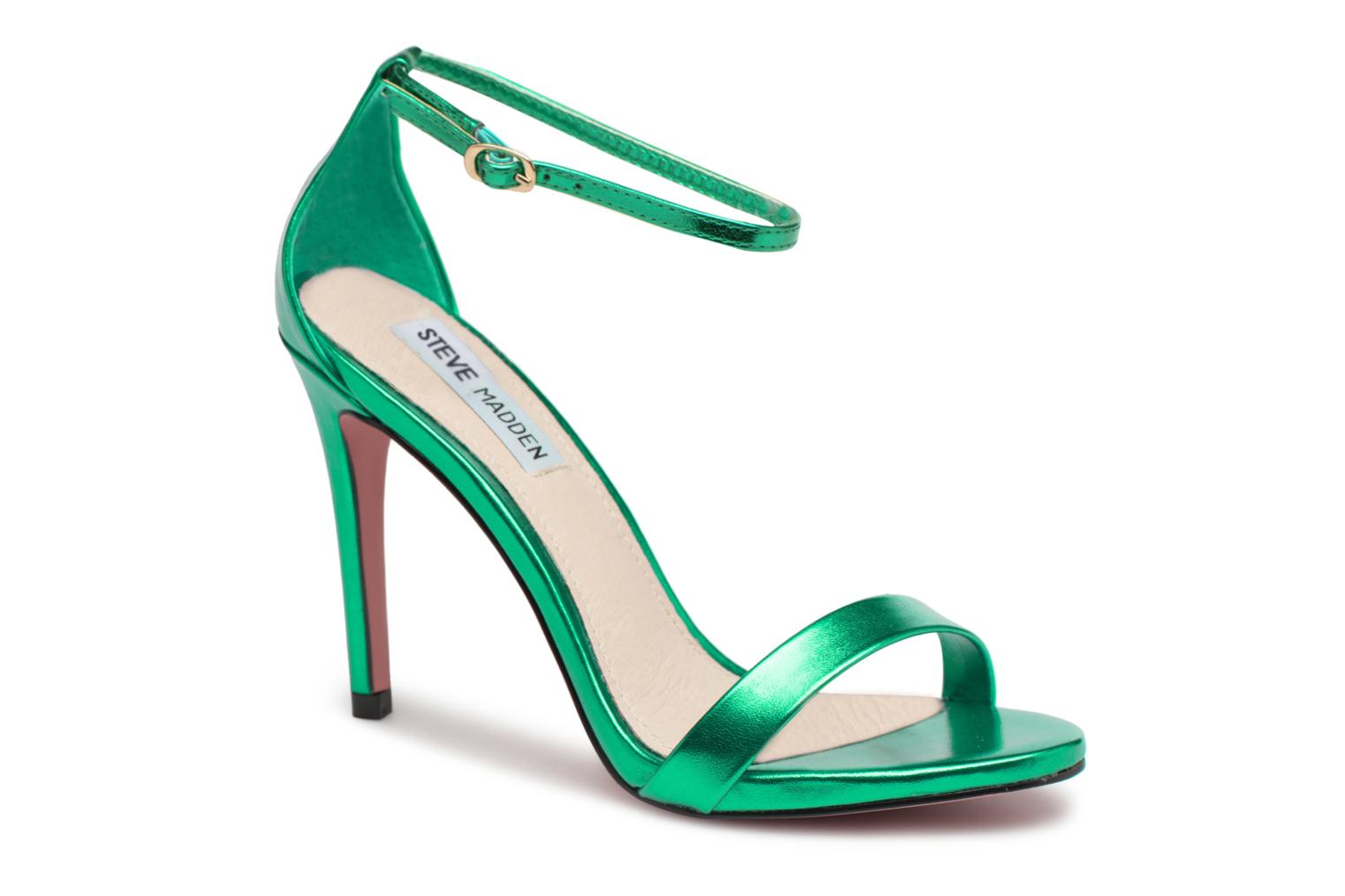 Sandals Steve Madden Stecy Sandal Green detailed view/ Pair view