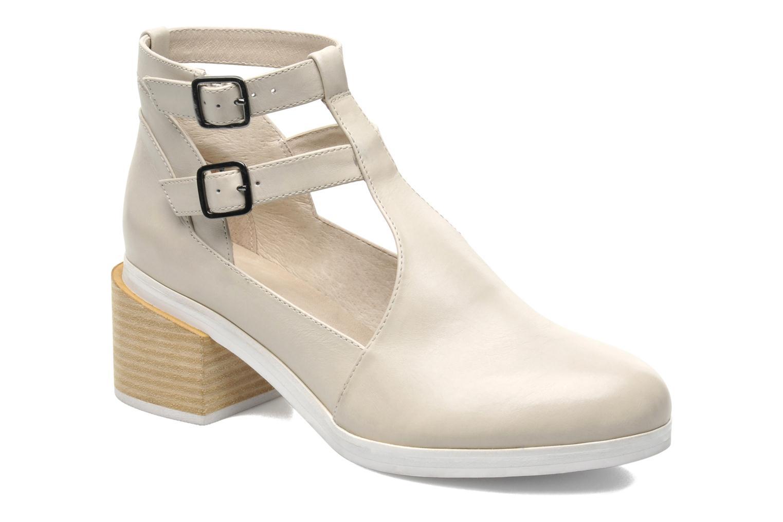 Ankelstøvler Intentionally blank Clarke Beige detaljeret billede af skoene
