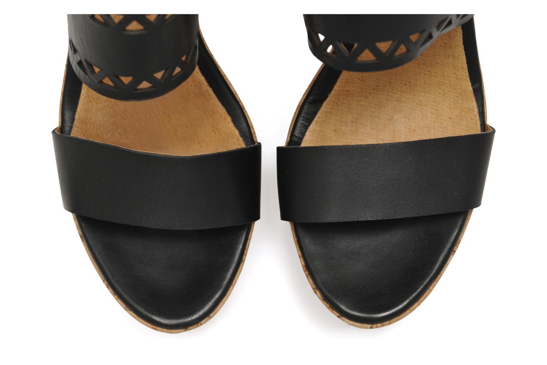 Sandales et nu-pieds Made by SARENZA Bamako #6 Noir vue portées chaussures