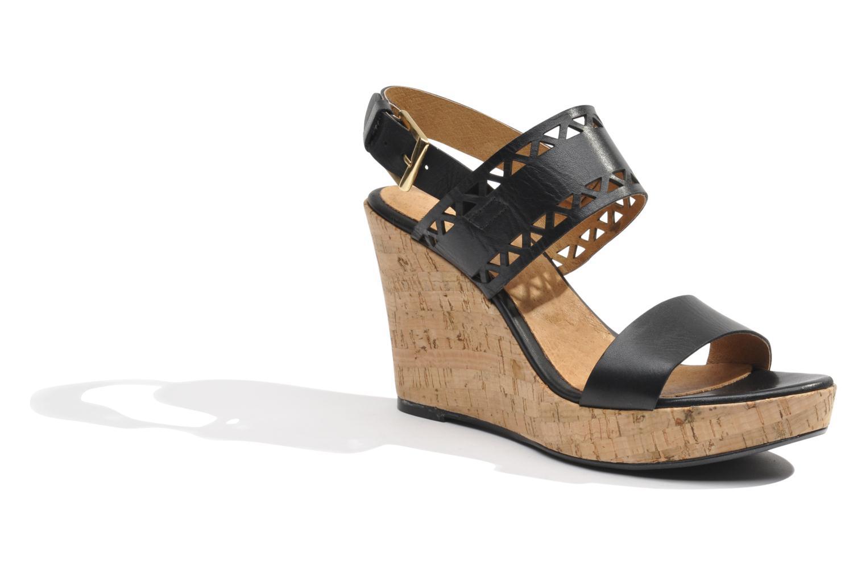 Sandales et nu-pieds Made by SARENZA Bamako #6 Noir vue droite