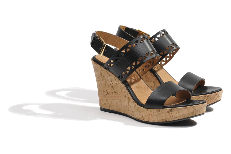 Sandales et nu-pieds Made by SARENZA Bamako #6 Noir vue derrière