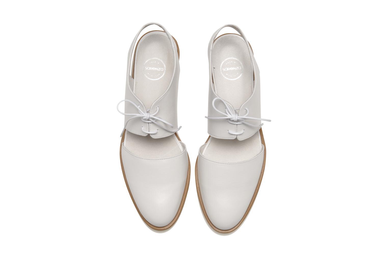 Lace-up shoes Made by SARENZA Parasols de Paris #1 White model view