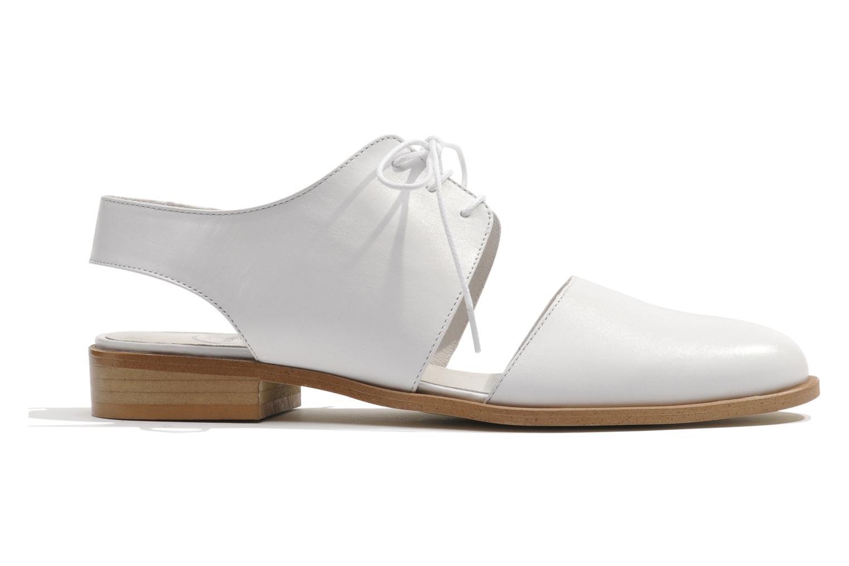 Lace-up shoes Made by SARENZA Parasols de Paris #1 White detailed view/ Pair view