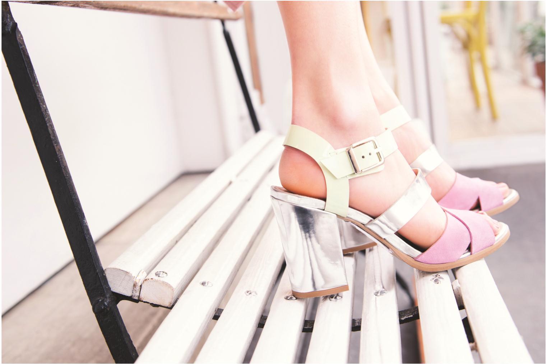 Sandales et nu-pieds Made by SARENZA Guimauve #7 Multicolore vue 3/4