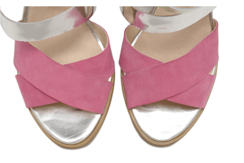 Sandales et nu-pieds Made by SARENZA Guimauve #7 Multicolore vue portées chaussures