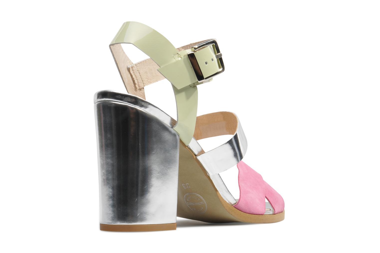 Sandales et nu-pieds Made by SARENZA Guimauve #7 Multicolore vue face
