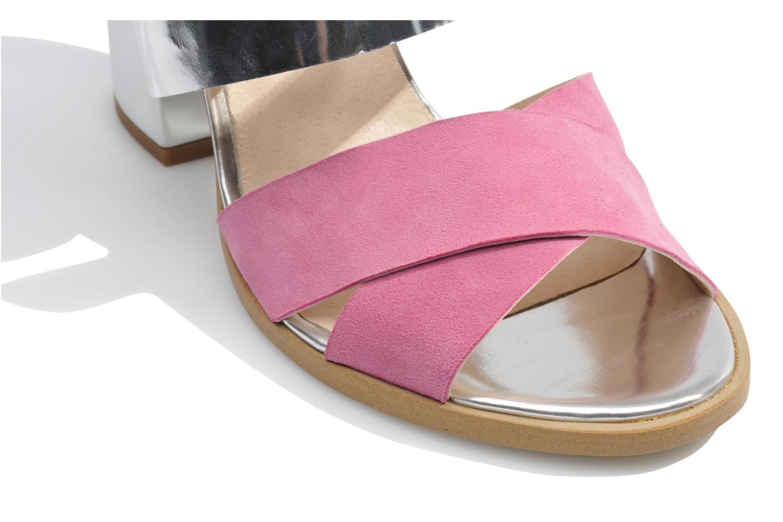 Sandales et nu-pieds Made by SARENZA Guimauve #7 Multicolore vue haut