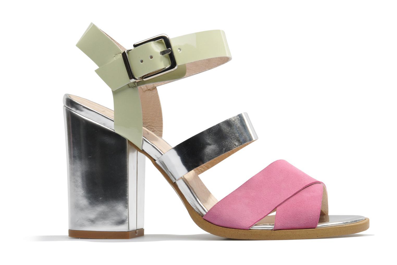 Sandales et nu-pieds Made by SARENZA Guimauve #7 Multicolore vue détail/paire