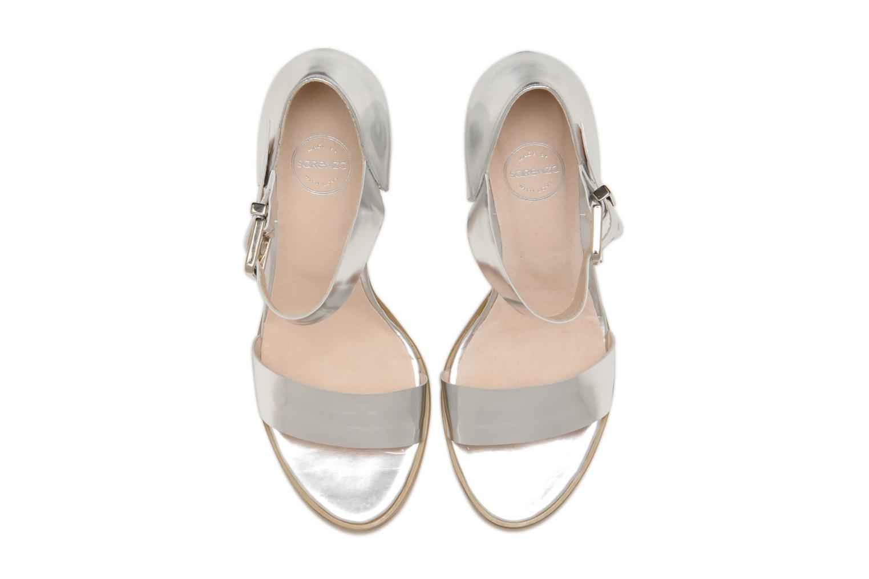 Sandales et nu-pieds Made by SARENZA Guimauve #8 Argent vue portées chaussures