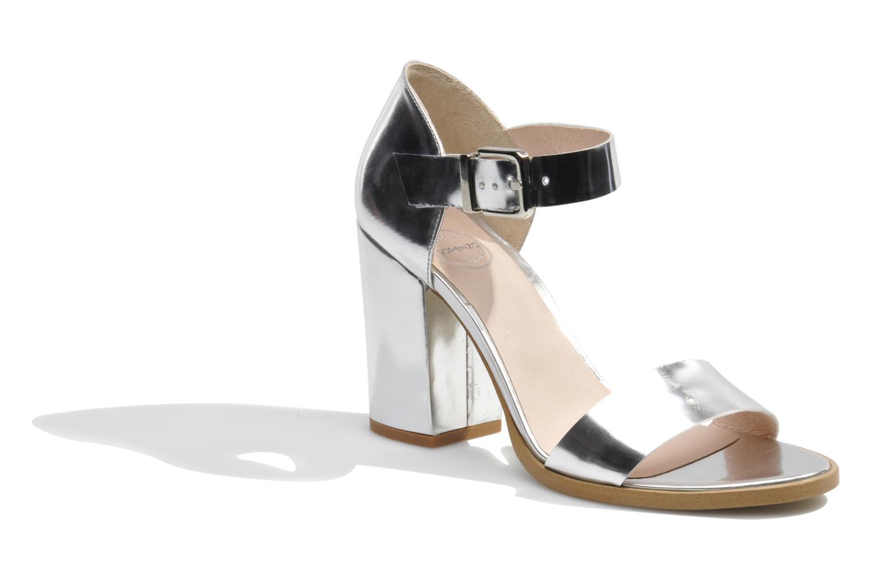 Sandales et nu-pieds Made by SARENZA Guimauve #8 Argent vue droite