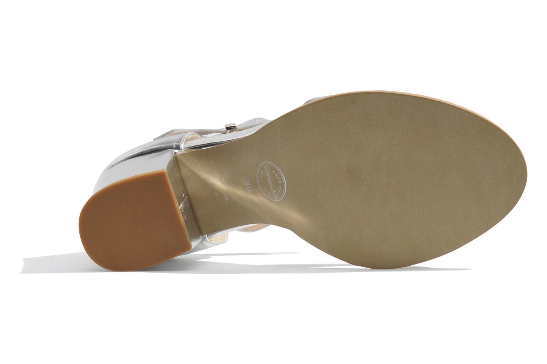 Sandales et nu-pieds Made by SARENZA Guimauve #8 Argent vue gauche