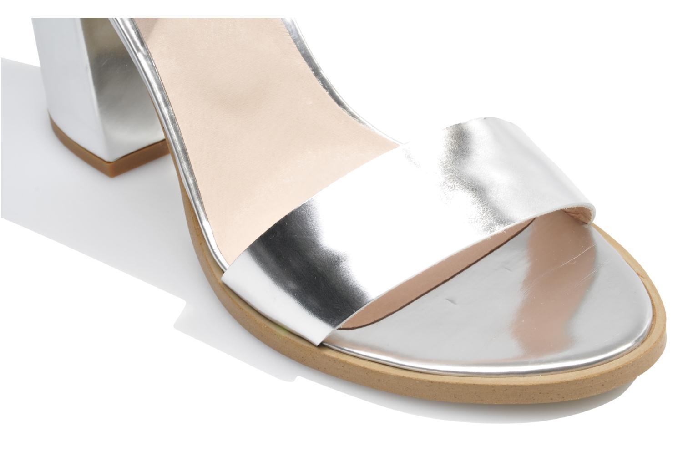 Sandales et nu-pieds Made by SARENZA Guimauve #8 Argent vue haut