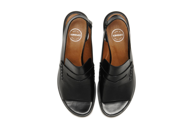 Sandalen Made by SARENZA Guimauve #12 schwarz schuhe getragen