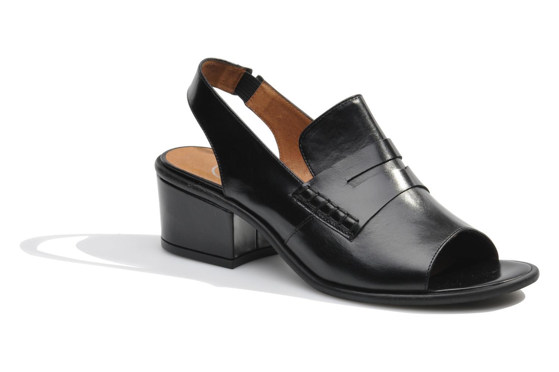 Sandalen Made by SARENZA Guimauve #12 schwarz ansicht von rechts