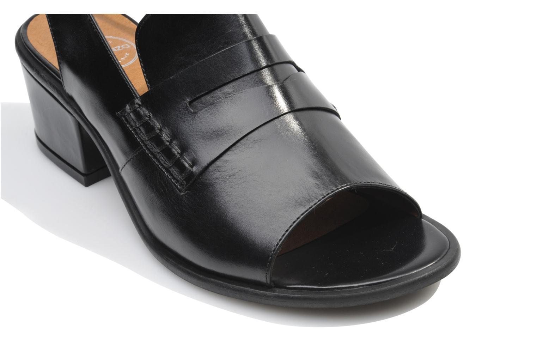 Sandales et nu-pieds Made by SARENZA Guimauve #12 Noir vue haut