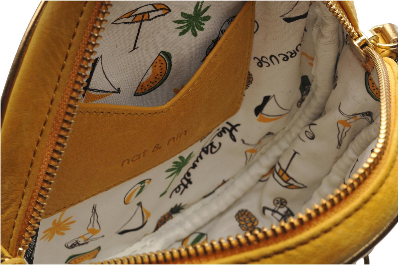 Handbags Nat & Nin Coney Island Yellow back view