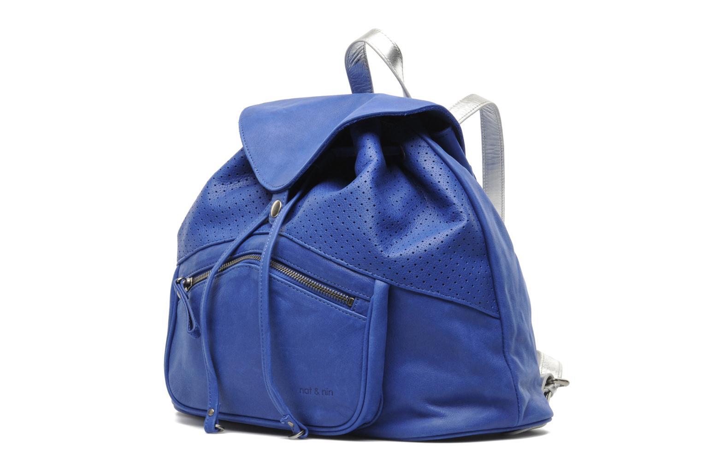 Sacs à dos Nat & Nin La Grange aux Belles Bleu vue portées chaussures