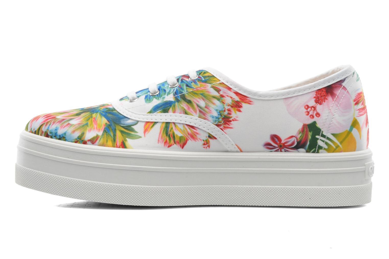 Sneakers Victoria Inglesa Flores Plataforma Multicolor voorkant
