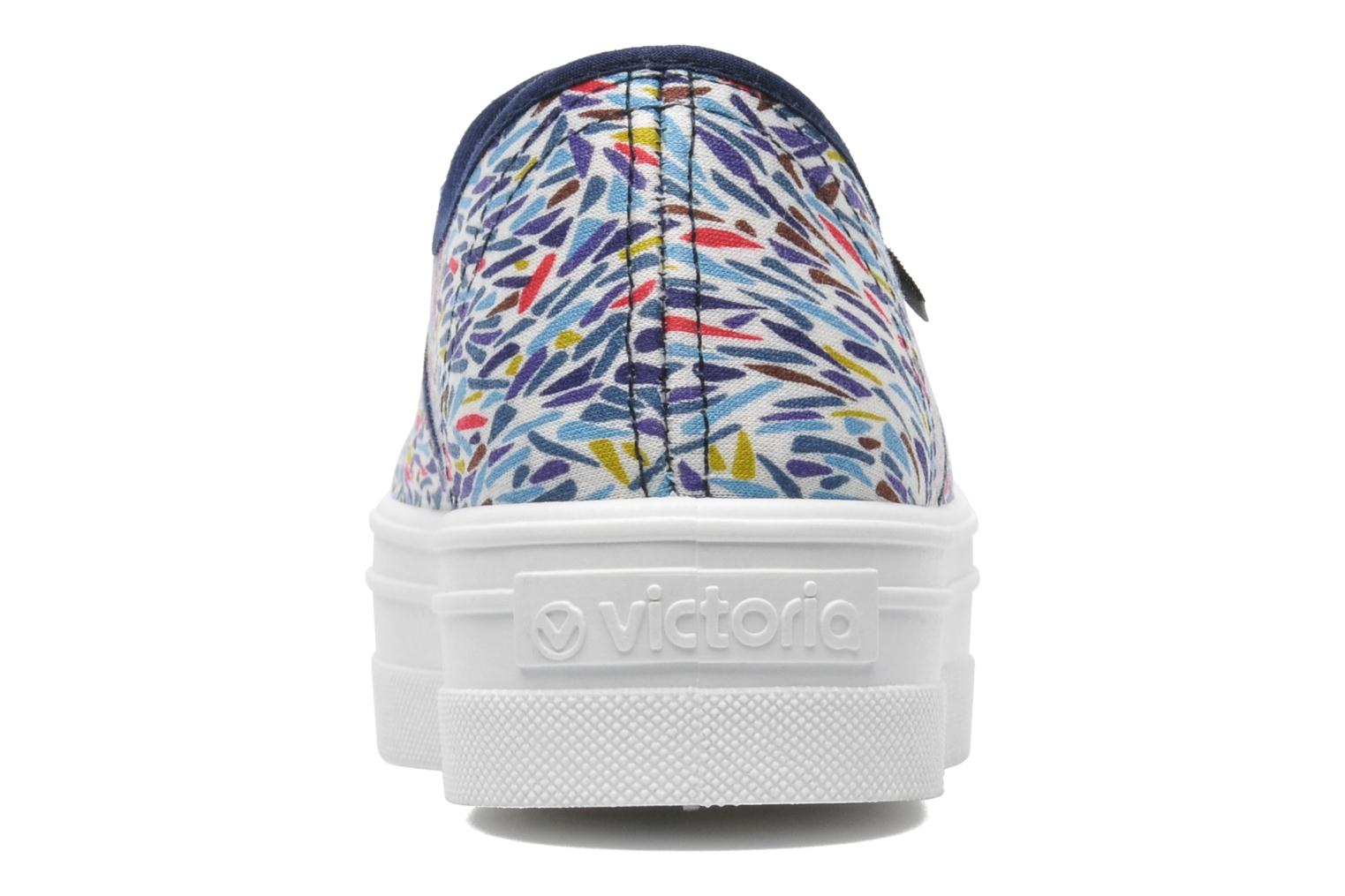 Trainers Victoria Inglesa Liberty Plataforma Multicolor view from the right