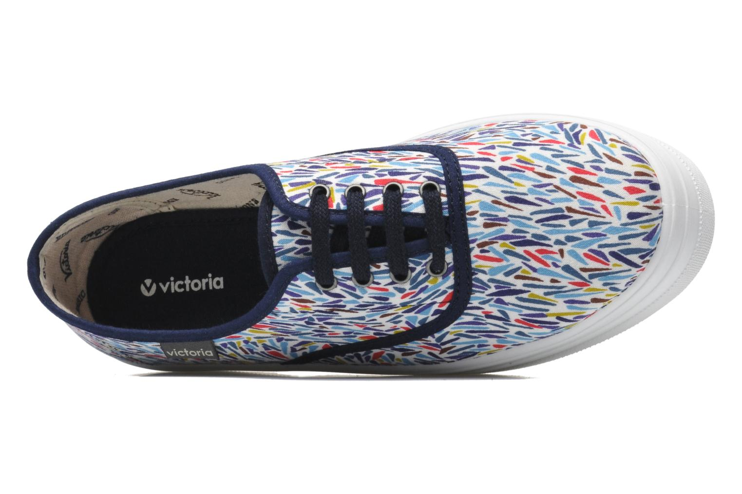 Trainers Victoria Inglesa Liberty Plataforma Multicolor view from the left
