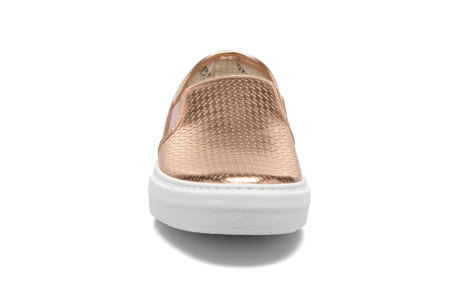 Slip-on Metalizada Rosa