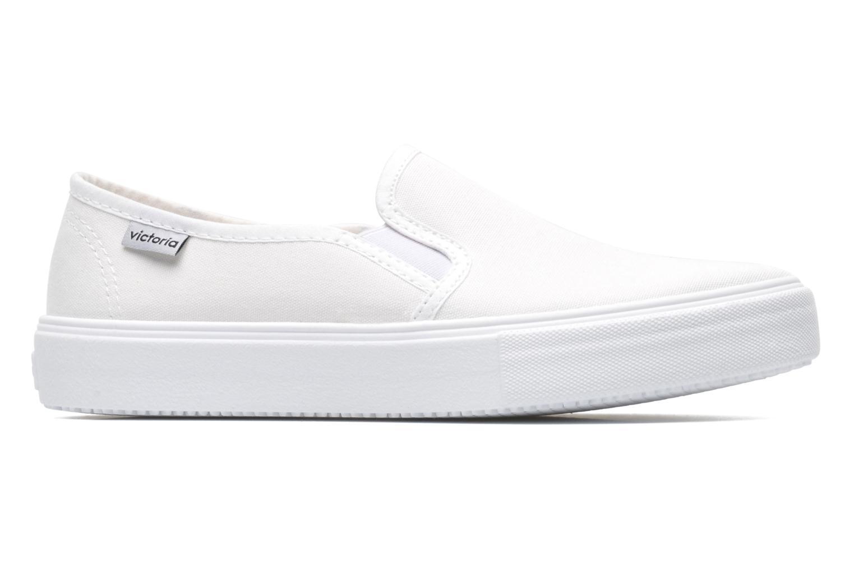 Sneaker Victoria Slip-on Lona weiß ansicht von hinten