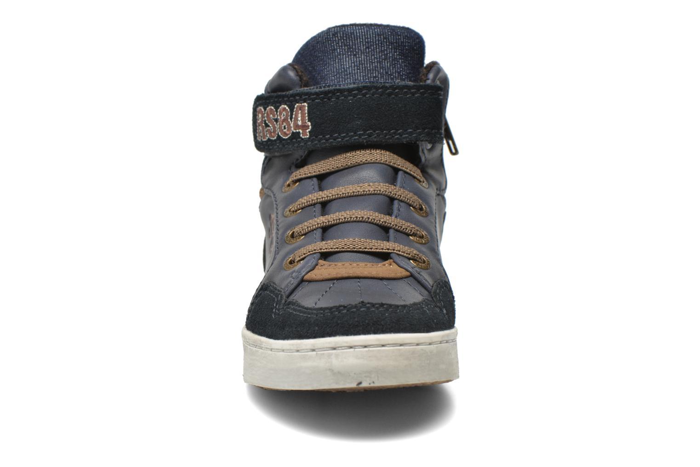 Baskets Redskins Zigzag Kid Bleu vue portées chaussures