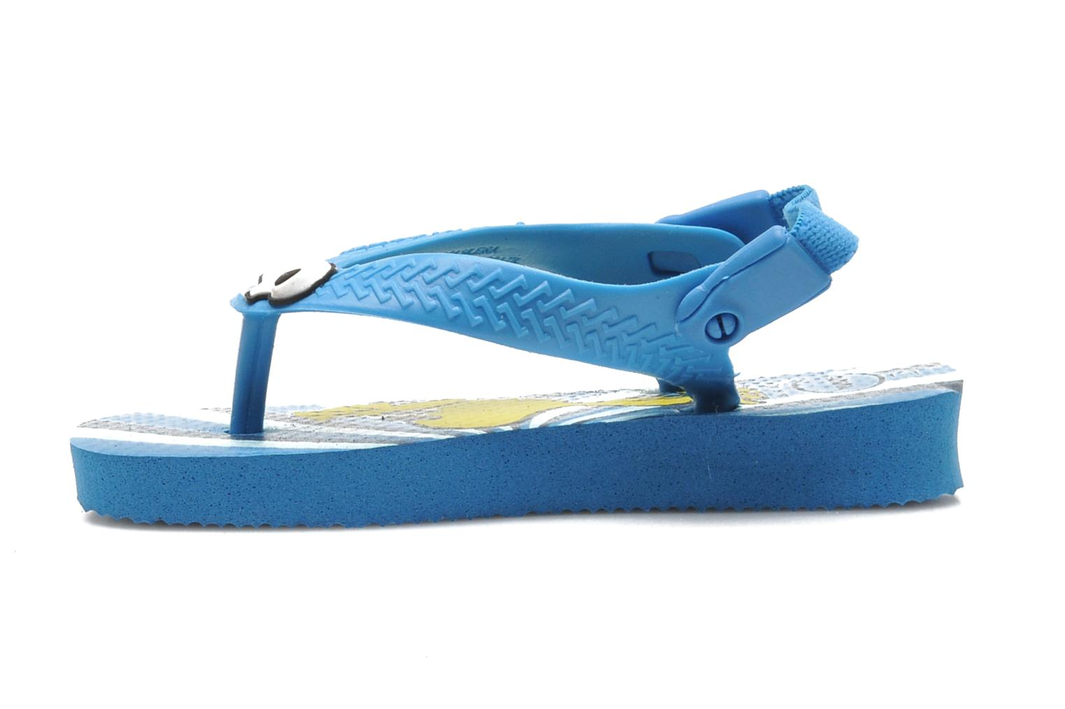 Flip flops Havaianas Baby Snoopy Blue front view