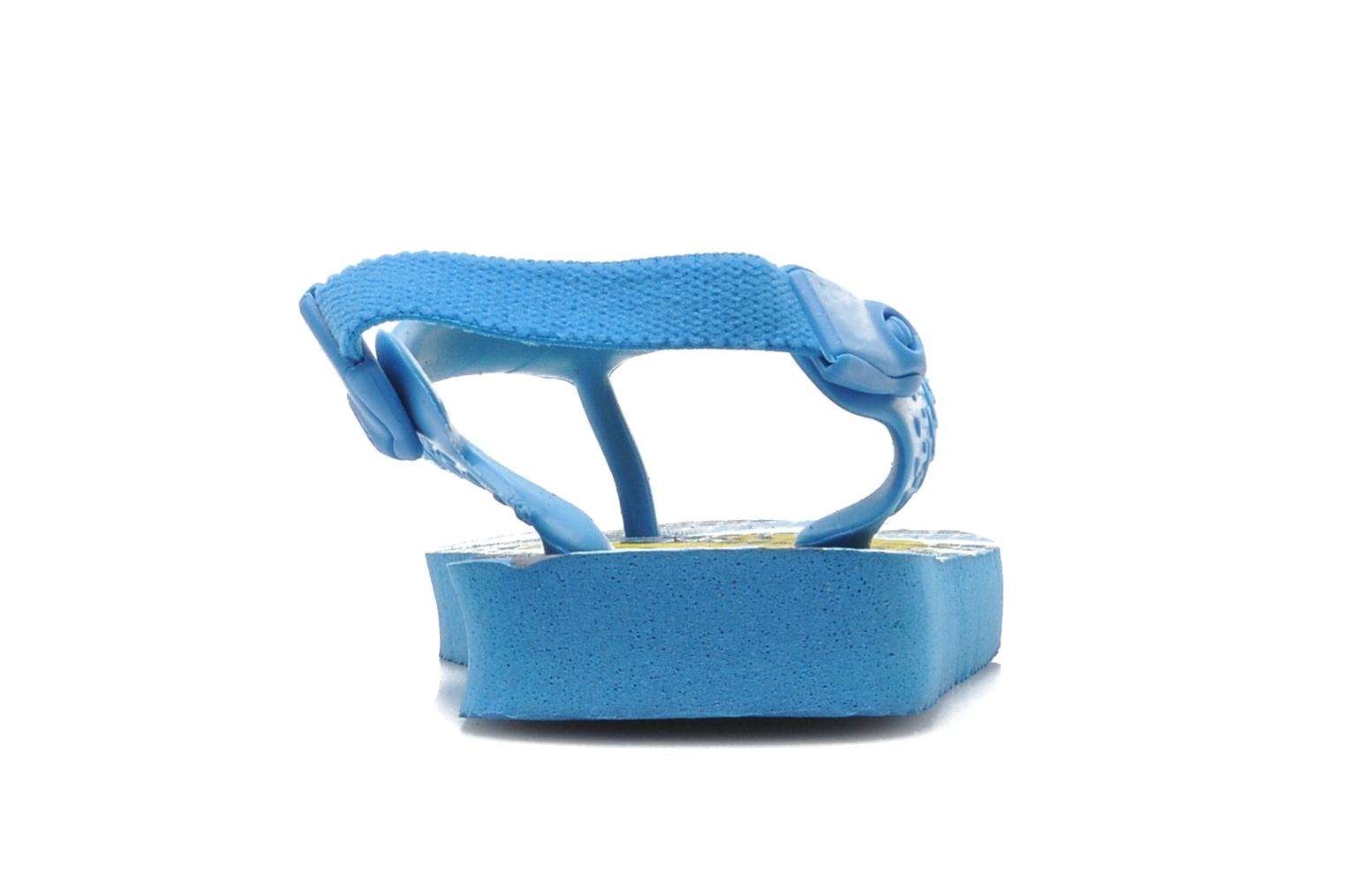 Flip flops Havaianas Baby Snoopy Blue view from the right