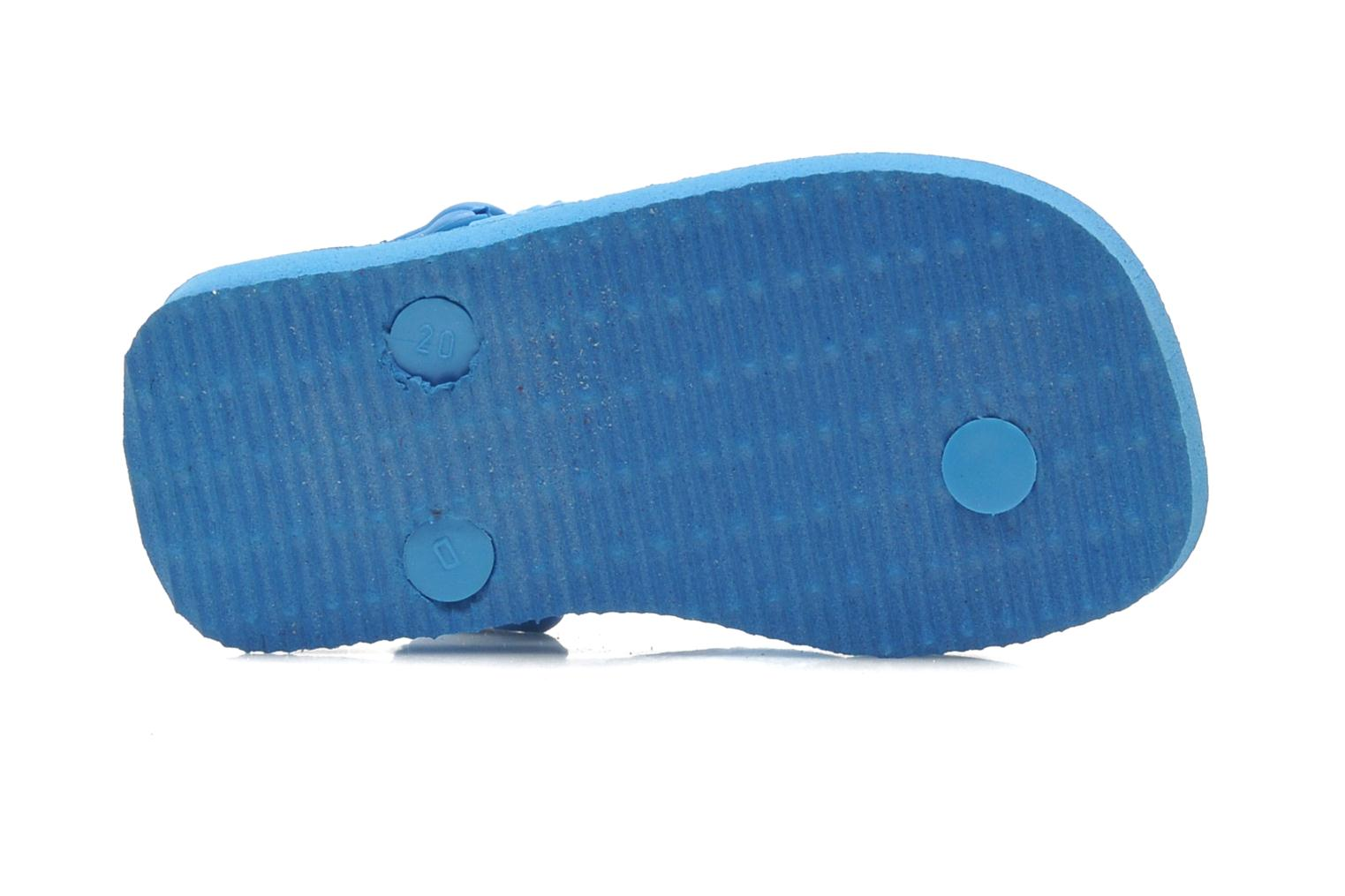 Flip flops Havaianas Baby Snoopy Blue view from above