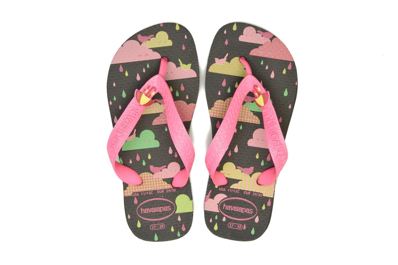 Slippers Havaianas Kids Fantasy Zwart 3/4'