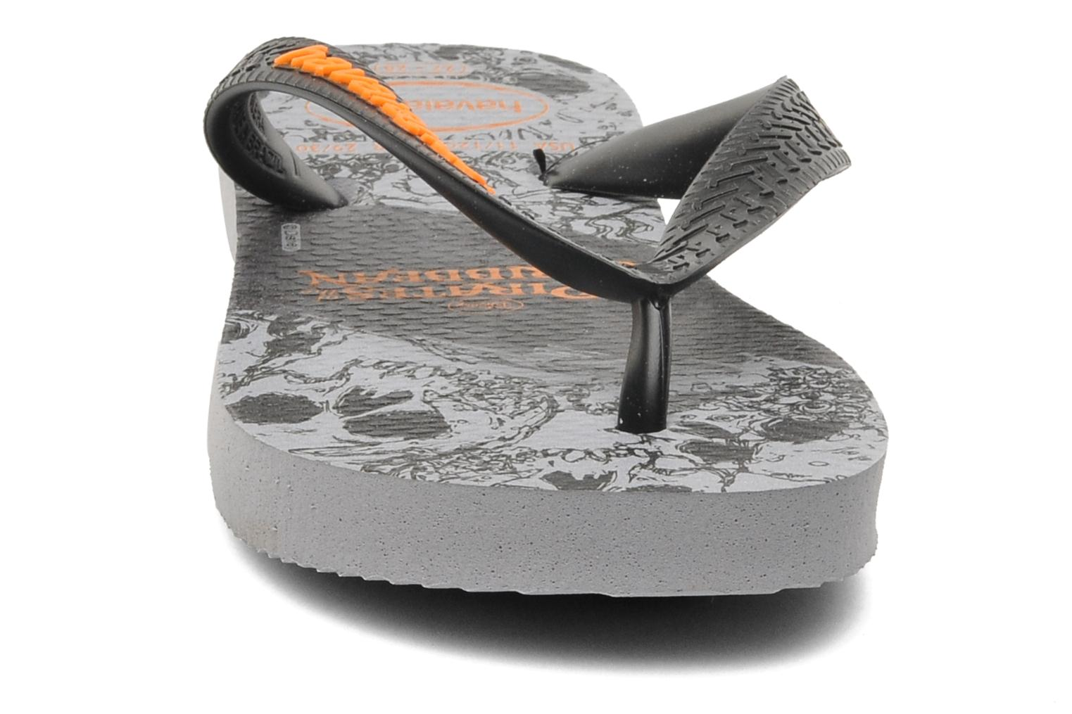 Flip flops Havaianas Kids Piratas Black model view